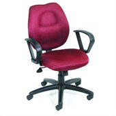 Boss Office Products Rachet Back Molded Foam Task Chair with Loop Arms