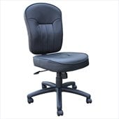 Boss Office Products Black Leather Task Chair