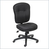 Boss Office Products Fabric Task Chair in Black