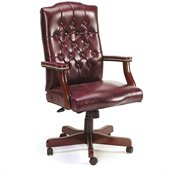 Boss Office Products Traditional Tufted Style Armchair