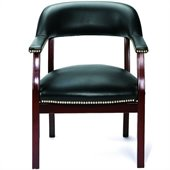 Boss Office Products Captain's Guest Chair with Arms