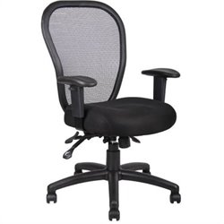 Boss Office Products Mesh Office Chair with 3 Paddle Mechanism