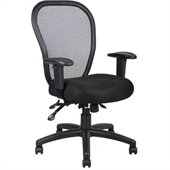 Boss Office Products Mesh Chair with 3 Paddle Mechanism