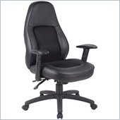 Boss Office Products Leather Plus Multi-Functional Mechanism Chair