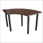 Boss Office Products 59 Crescent Training Table