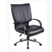 Boss Office Products High Back Executive Chair in Black