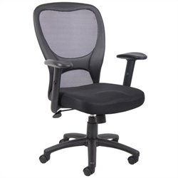 Boss Office Budget Mesh Adjustable Task Office Chair
