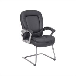 Boss Office Pillowtop Guest Chair in Black