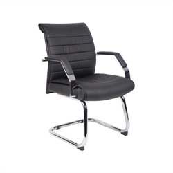 Boss Office Executive Ribbed Chair Guest Chair