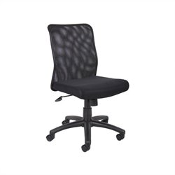 Boss Office Mesh Task Office Chair in Black