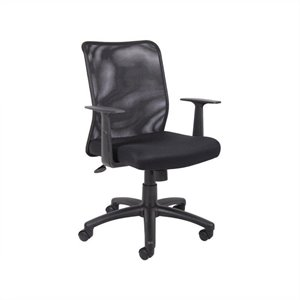 Boss Office Mesh Task Office Chair with T-Arms
