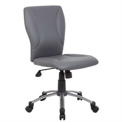 Boss Office Tiffany Microfiber Office Chair in Black