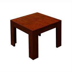 Boss Office End Table in Mahogany