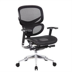Boss Office Products Multi Function Mesh Office Chair