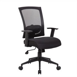 Boss Office Products Mesh Back Task Office Chair in Black