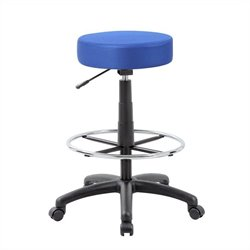 Boss Office Products The DOT Drafting Chair in Blue