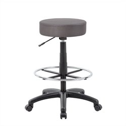Boss Office Products The DOT Drafting Chair Charcoal Grey
