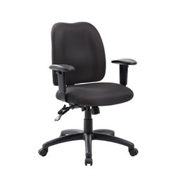 Boss Office Multi-Function Task Office Chair in Black