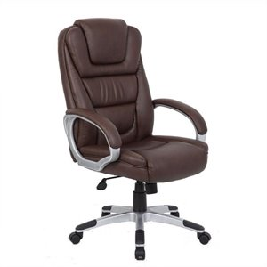 Boss Office Executive Office Chair in Bomber Brown