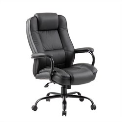 Boss Office Heavy Duty Executive Office Chair in Black