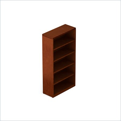 Offices To Go 70&quot; 5-Shelf Bookcase in Toffee