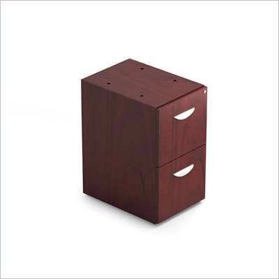 Offices To Go 22&quot; Box File Pedestal with Lock in Cordovan