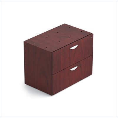 Offices To Go 2-Drawer Lateral File with Lock in Cordovan