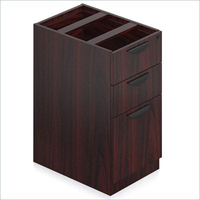 Offices to Go 3 Drawer Vertical Box and File Pedestal with Lock 