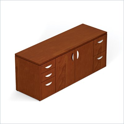 Offices To Go 298 Cabinet with Locking Pedestals in Toffee