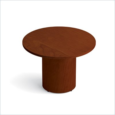 Offices To Go 42&quot; Drum Base Round Table in Toffee