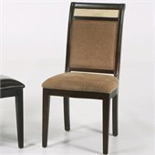 Armen Living Casual Dining Side Chair in Beige (Set of 2)
