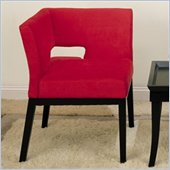 Armen Living Micro Fiber Corner Chair