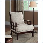 Armen Living Windsor Vintage French Fabric Chair