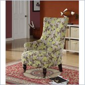 Armen Living Montclair Vintage French Fabric Chair
