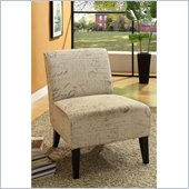 Armen Living Darby Vintage French Fabric Chair