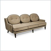 Armen Living Draper Sofa in Cumin