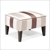 Armen Living Garbo Ottoman in Multi-Color