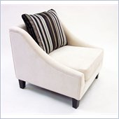 Armen Living Barclay Chair in Cream