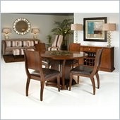 Armen Living Ashton Dining Table in Cherry