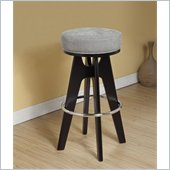 Armen Living Lexa 30 Inch Lagoon Fabric Barstool