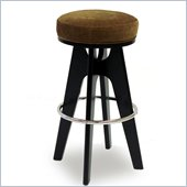 Armen Living Lexa 30 Inch Tobacco Fabric Barstool