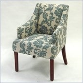 Armen Living Ikat Fabric Accent Chair