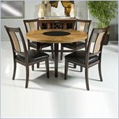 Armen Living 5 Piece Round Dining Set