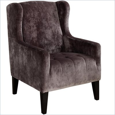 Armen Living Madera Club Chair in Gray