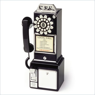 Crosley Radio 1950 s Classic Pay Phone