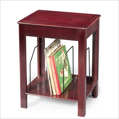 Crosley Radio Danville Media Storage End Table in Cherry