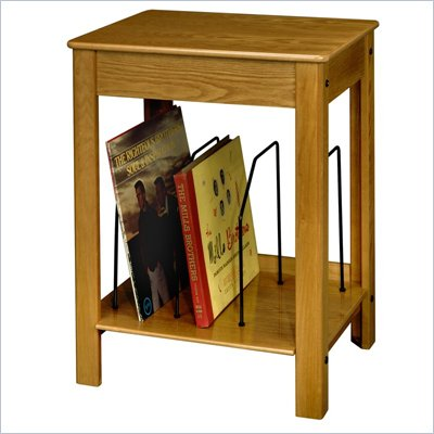 Crosley Radio Danville Media Storage End Table in Oak