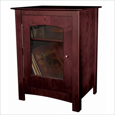 Crosley Radio Williamsburg Media Storage End Table in Cherry