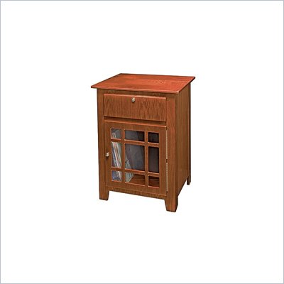 Crosley Radio Richmond Media Storage End Table in Paprika