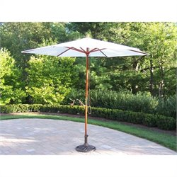Oakland Living 9 Ft Market Umbrella with Crank
